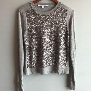 Diane von Furstenberg Sequence Light Sweater Top